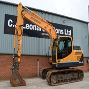 Used Crawler Excavator HYUNDAI R140LC-9A for Sale