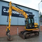 Used Crawler Excavator JCB JS130LC for Sale