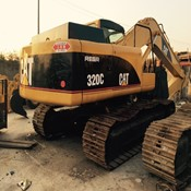 2 Units of Used CAT 320C Tracked Excavator - Year 2010 for Sale