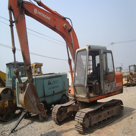 Year 2007 – 2 Units of Used HITACHI-EX120 Tracked Excavator for Sale