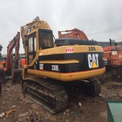 2 Units of Used CAT 330B Tracked Excavator for Sale