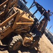 Used 2 Wheel Drive Backhoe  Loader 580SL – 1996 Year, 6000 Hrs in Good Condition for Sale