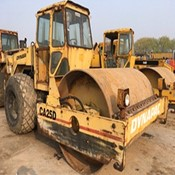 Used DYNAPAC CA25D Road Roller in Good Condition for Sale