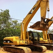 Used Excavator CAT320C for Sale