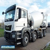 New - 2 Units MAN TGS 32.420 BB - Automatic 8x4 Stetter Concrete mixer for sale