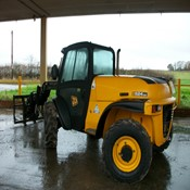 Used JCB 524-50 Forklift - 2013 Year, 1650 Hr in Good Condition for sale