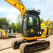 Good Condition Used JCB JS130LC Excavator - 3700 hrs for sale