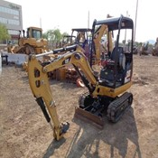 Caterpillar 301.7D OR Used Mini Crawler Excavator for Sale