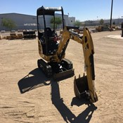 Used Mini Crawler Excavator – 2016 Caterpillar 301.7D OR for Sale