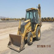 Used Caterpillar 420D 4EC Loader Backhoe for Sale