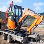 New Hitachi 26u Crawler Excavator for Sale