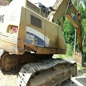 Used SAMSUNG MX292LC CRAWLER EXCAVATOR for sale
