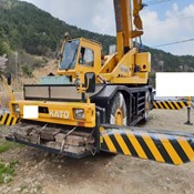 USED 45 TON KATO RT CRANE SS500 (KR45H-V) YEAR:1990 (STOCK:FB3260) FOR SALE