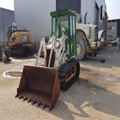 Used Mitsubishi BS3H Crawler loader for Sale