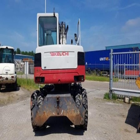 Used Wheel excavator TB175W – Takeuchi for Sale