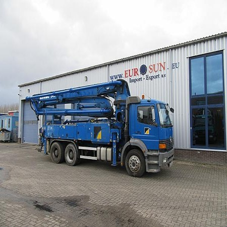 Used SCHWING S34X CONCRETE PUMP for sale,Euro Sun Import-Export BV