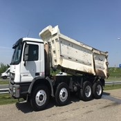Used Mercedes-Benz Actros 4844K 8×4 Dump Truck for Sale