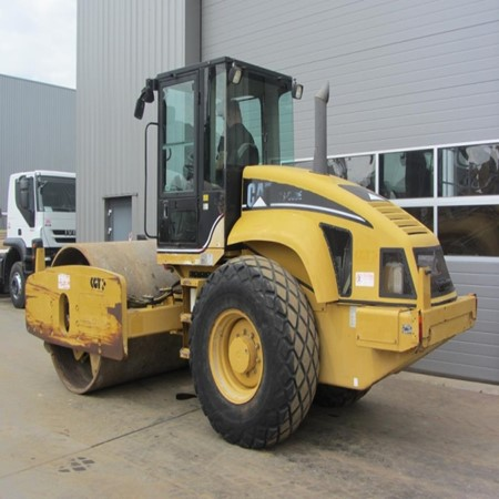 Used Caterpillar CS583E Roller for Sale