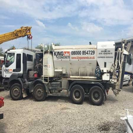 Used Volumetric Concrete Mixer Reimer Renault R12 For