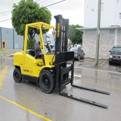Used Forklift HYSTER H100XM – Year 2005 for Sale