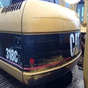 Used Excavator Caterpillar 318CL for Sale
