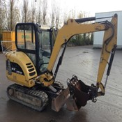 Used CATERPILLAR 302.5C Excavator - 2011 Year for Sale at Best Price