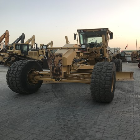 Caterpillar 14H 220 HP Used Motor Grader for Sale,Yellow Cat