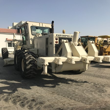 Year 1986 – 200 HP Caterpillar 14G Used Motor Grader for Sale ...