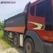 Used DAEWOO- BR7EM1 Dump Truck for sale