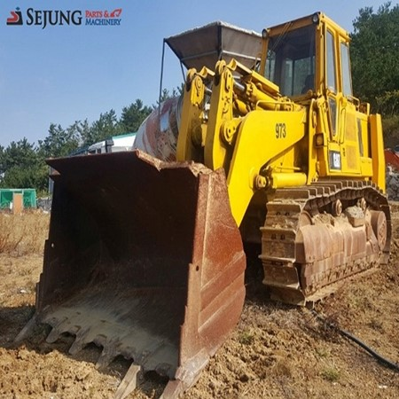 Used CATERPILLAR 973 Crawler Loader for Sale,Sejung Parts