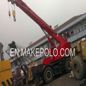 KOBELCO KR250-II Used Rough Terrain Crane for Sale