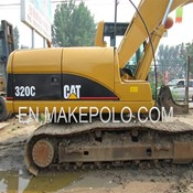 Caterpillar 320C Used Hydraulic Crawler Excavator for Sale