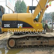Used 320C Crawler Excavator Caterpillar for Sale