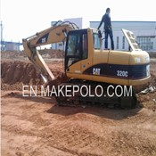 2007 Caterpillar 320C Used Crawler Excavator for Sale