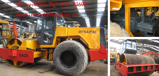 Used road rollers Danapac CA25
