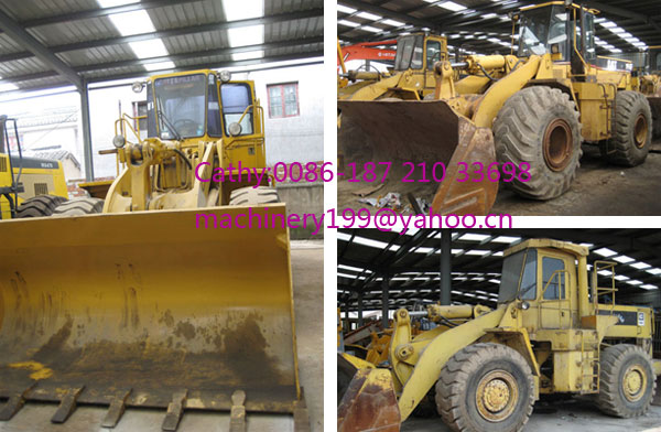 Used CAt wheel loaders