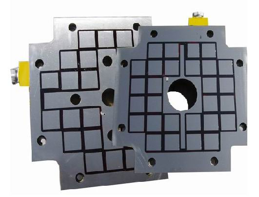 Permanent-electro-magnetic clamping system