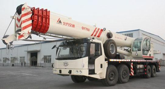 Sell new 70 ton truck crane