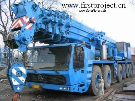 used krupp cranes for sell 200ton KMK6200 Year1993